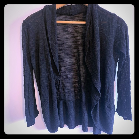 Say What? Other - 5/$15! Say what light black cardigan